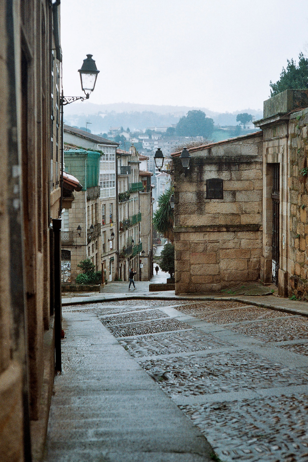 Old town. Ourense Spain.