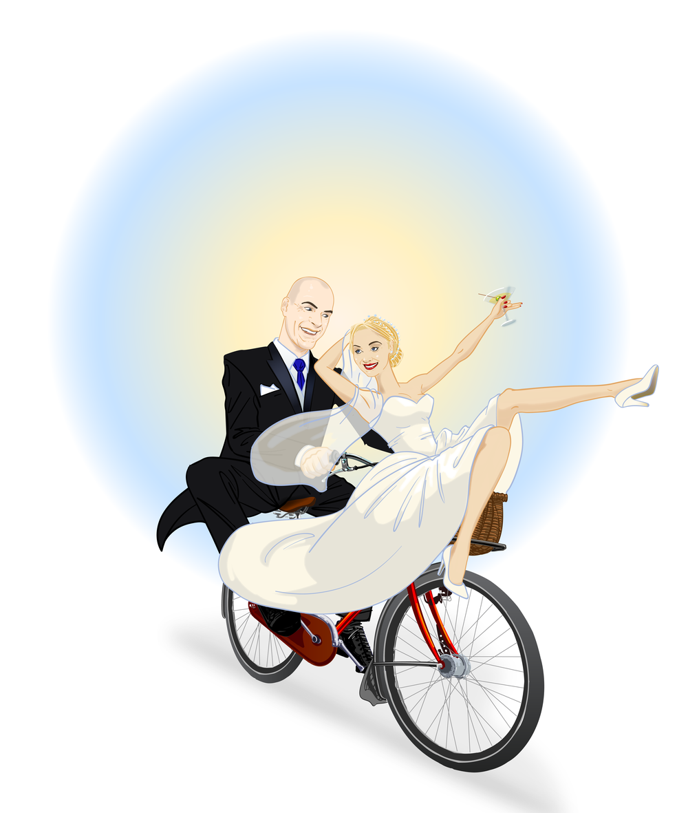 Wedding illustration