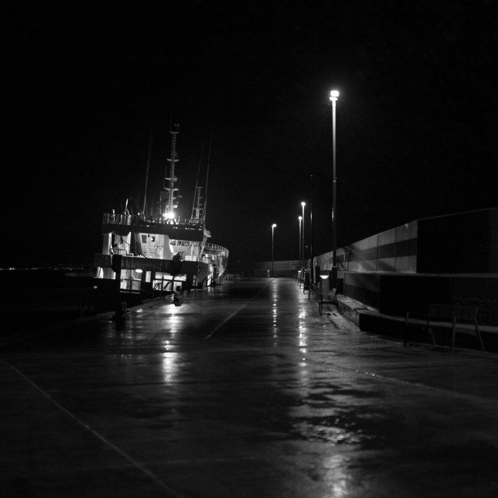 Bangor pier, Belfast.