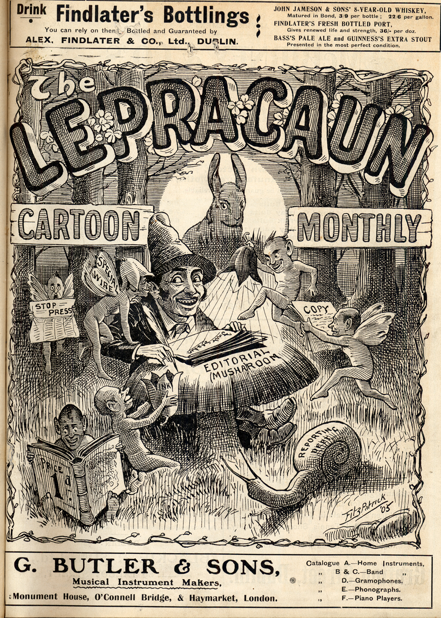 The Lepracaun Cartoon Monthly