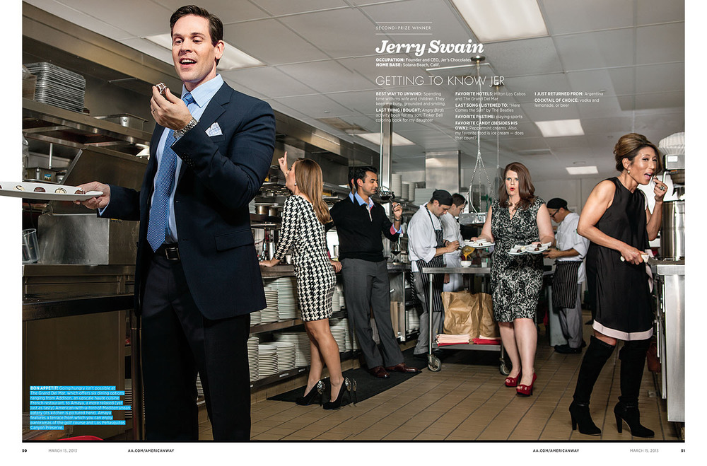 Jerry's spread from  American Way,  March 15, 2013