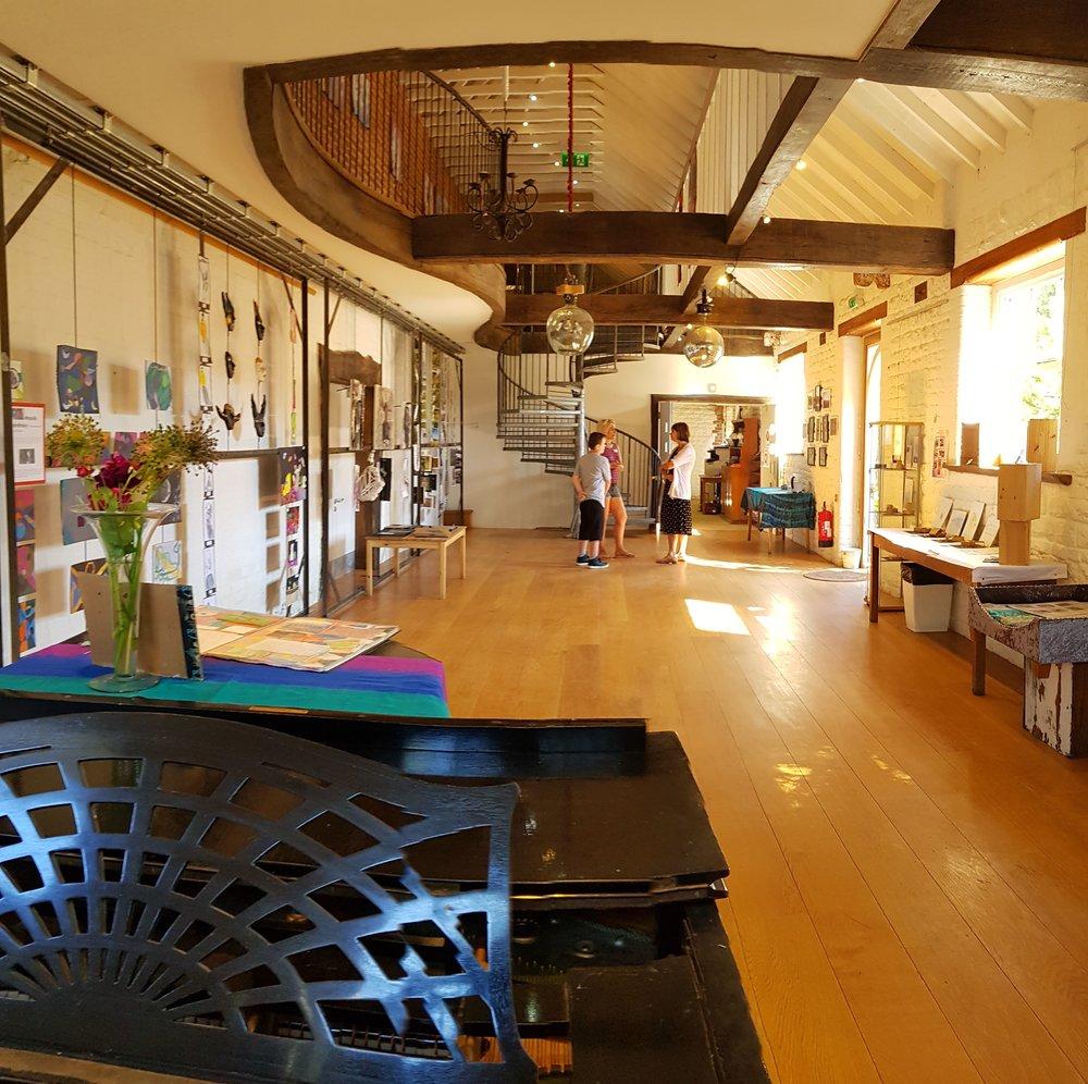 The performance barn at Forest Farm Montessori Primary & Senior School