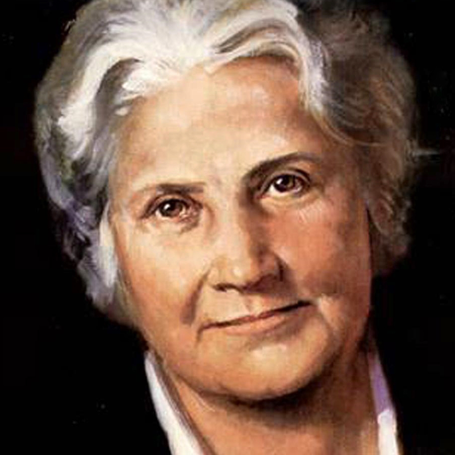 Dr Maria Montessori. Her pioneering work remains relevant and influential today