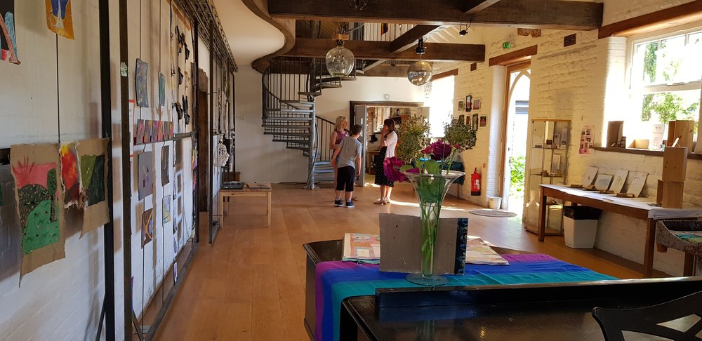 The performance space - one of our communal areas where nursery, primary and seniors come together for special occasions