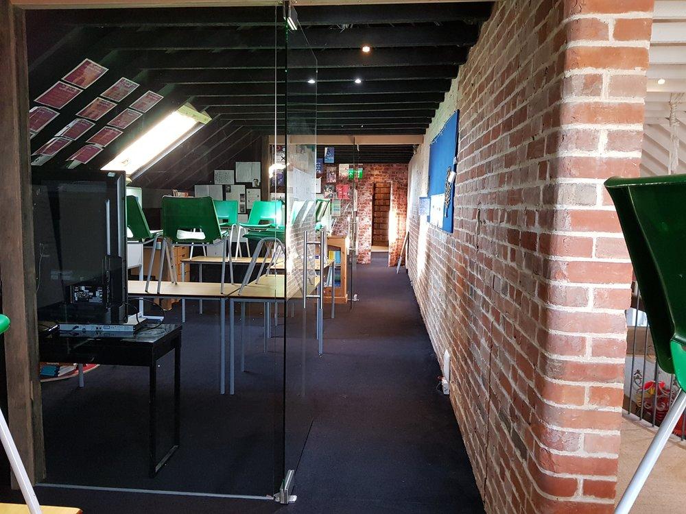 Dedicated spaces for senior work
