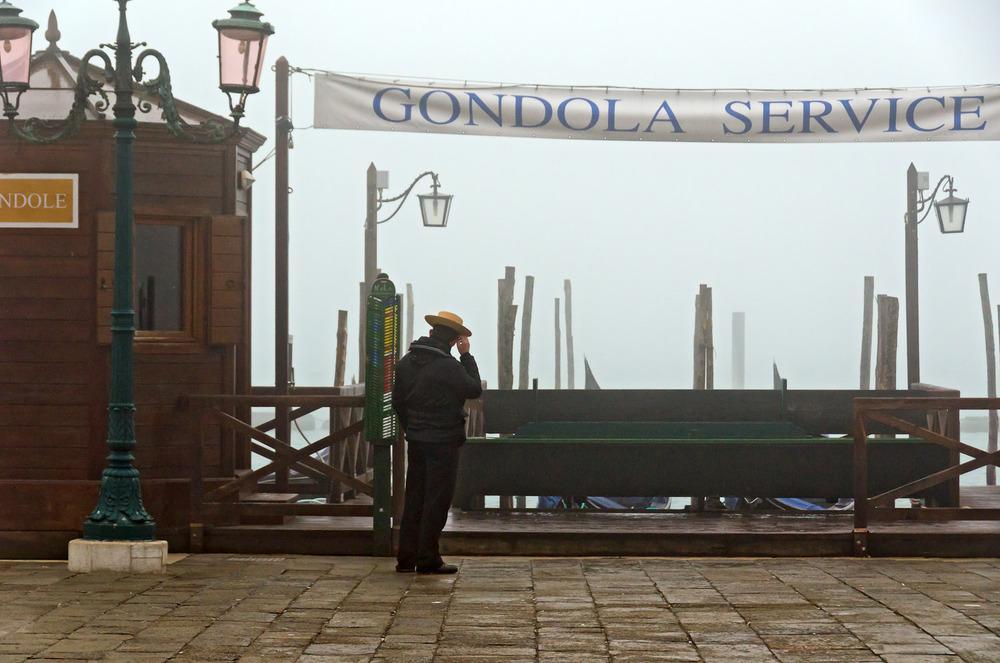 Gondolier, Piazzetta San Marco
