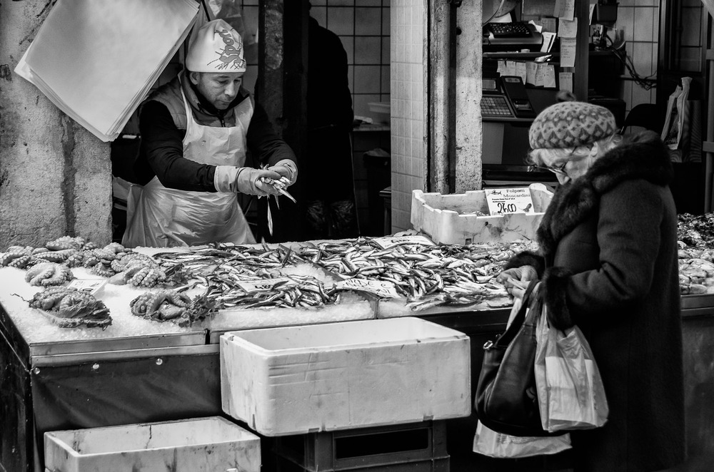 The Fishmonger | Mark Lindsay