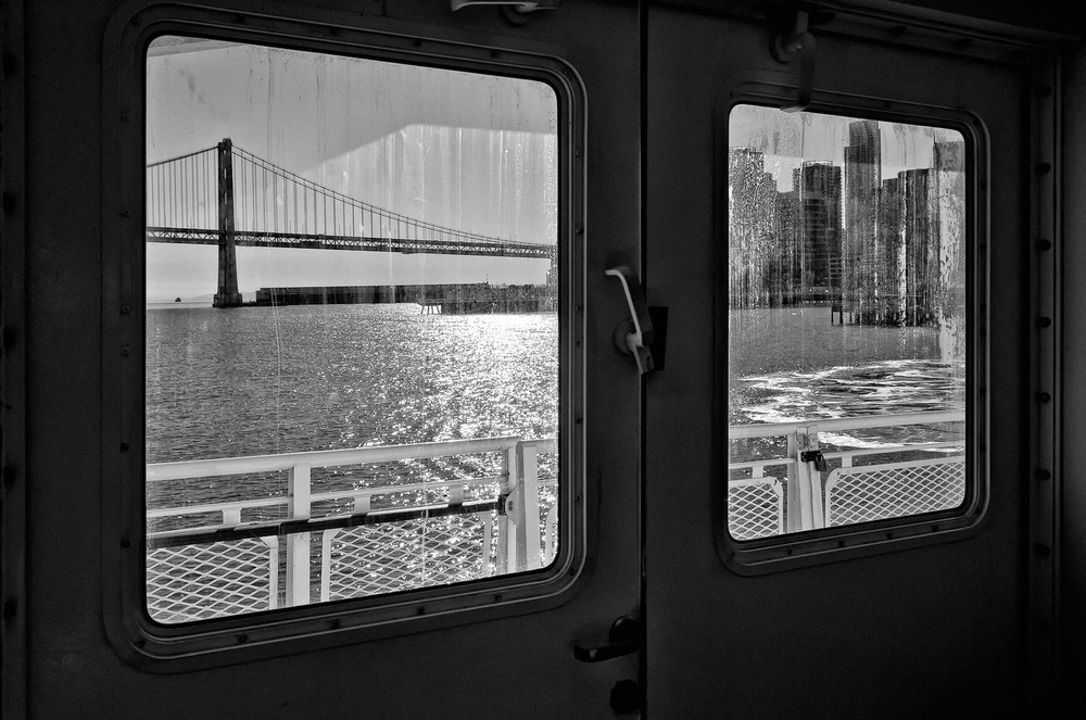 The City from a Ferry Seat | Mark Lindsay
