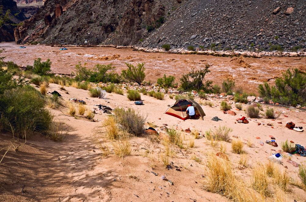 River Camp, Hermit Rapids | Mark Lindsay