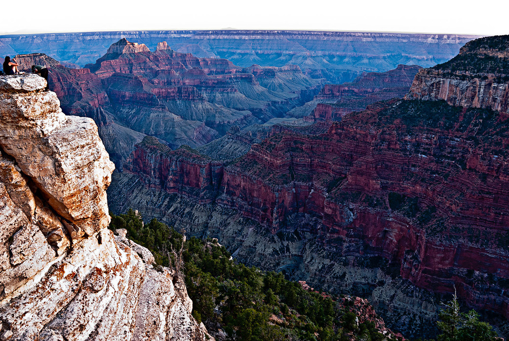 North Rim in Violet | Mark Lindsay