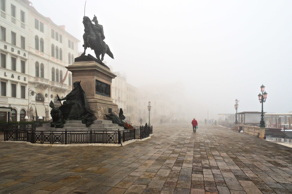 Venetian Fog on the Riva
