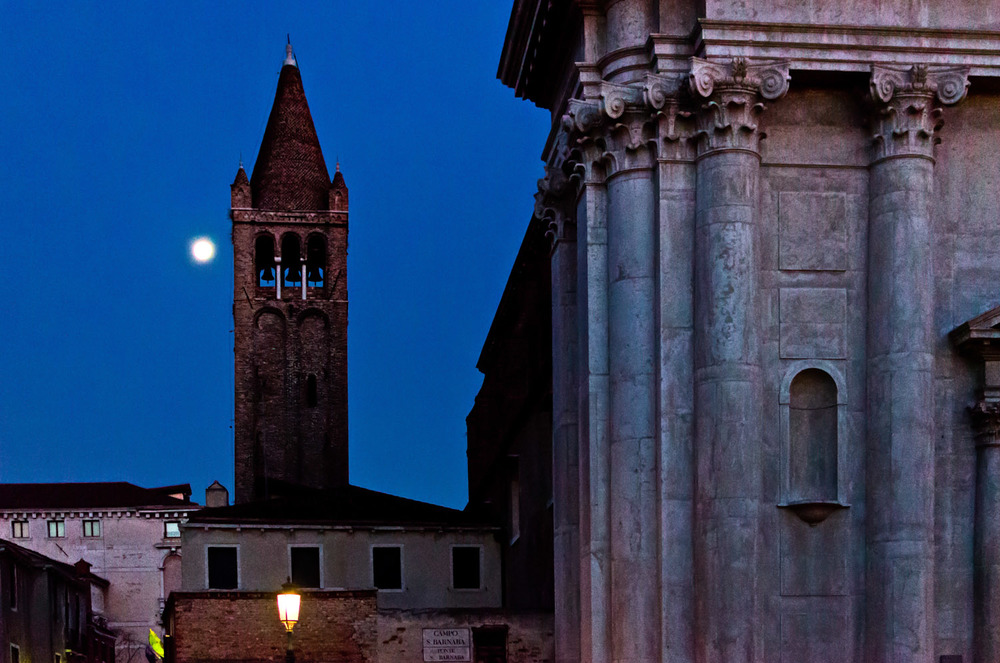 Moonrise over San Barnaba
