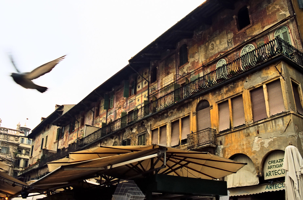 Piazza delle Erbe, Verona | Mark Lindsay