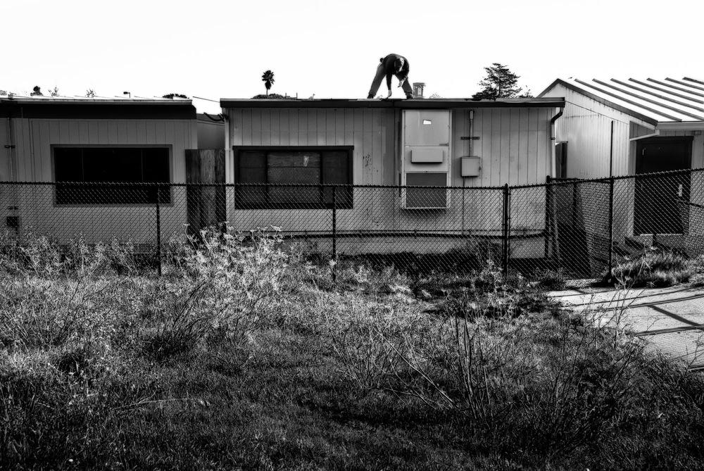 Man on Roof | Mark Lindsay