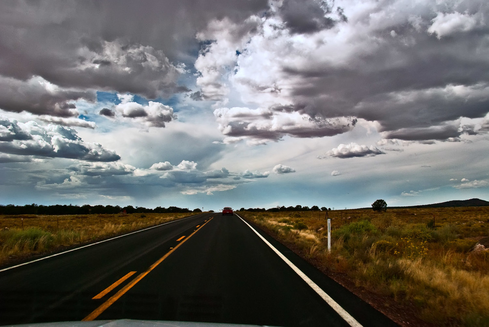 Road with Sky | Mark Lindsay