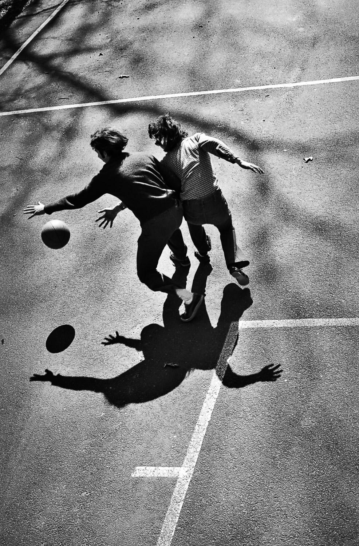 Basketball Shadows | Mark Lindsa