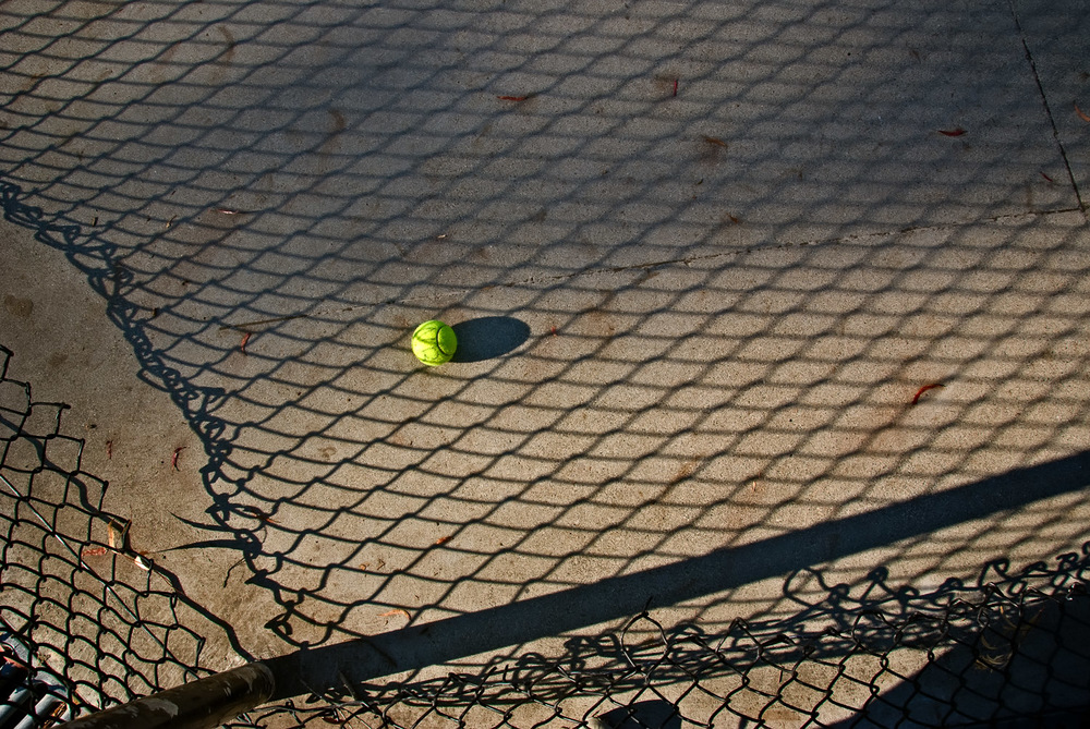 Abandoned Tennis Ball | Mark Lindsay