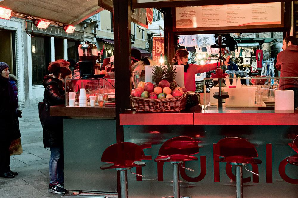 Venetian Bar at Dusk