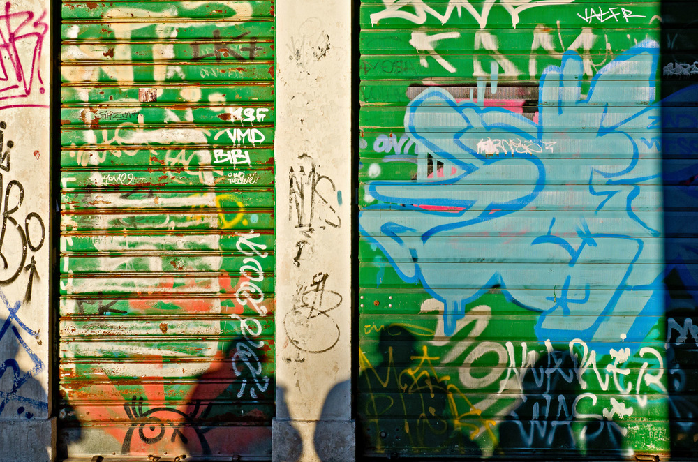 Graffiti and Shadows, Venice