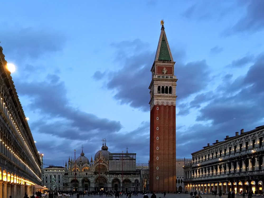 Piazza San Marco at Dusk