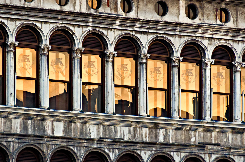 Sunrise Reflections, Piazza San Marco