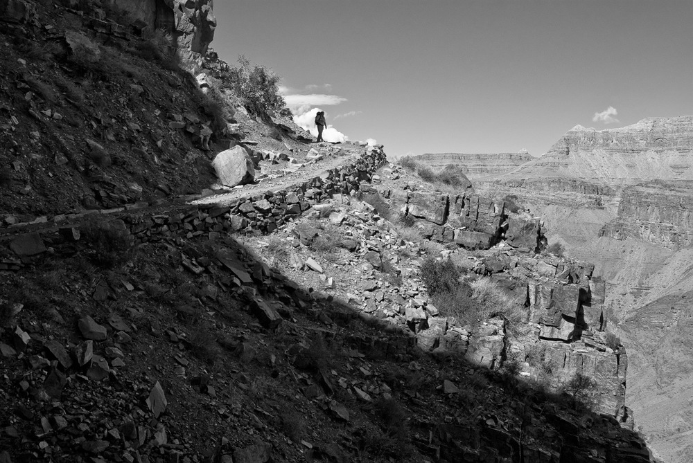 Corner Turn of South Kaibab, Grand Canyon | Mark Lindsay