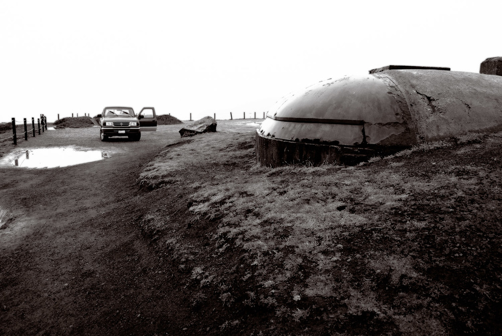 Bunker with Truck, Marin Headlands | Mark Lindsay
