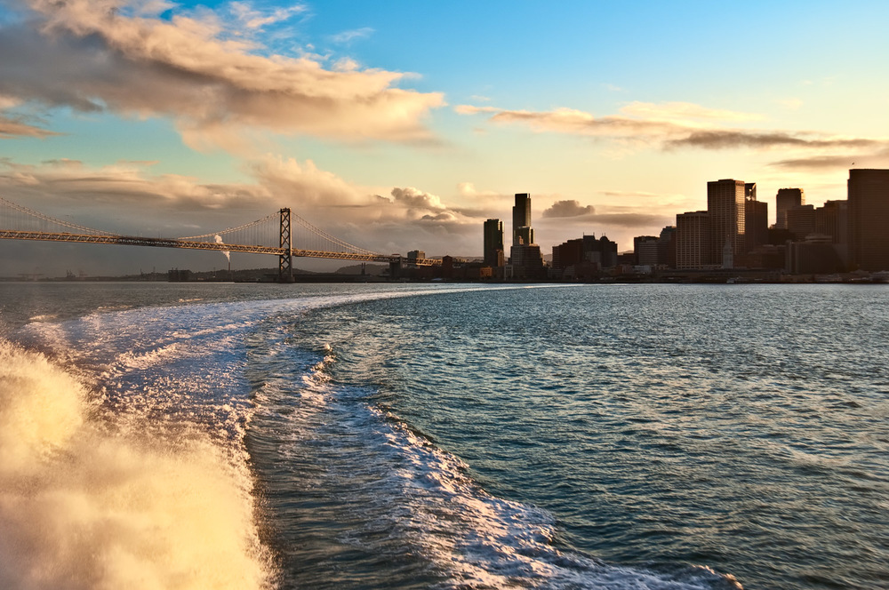 San Francisco from Larkspur Ferry | Mark Lindsay