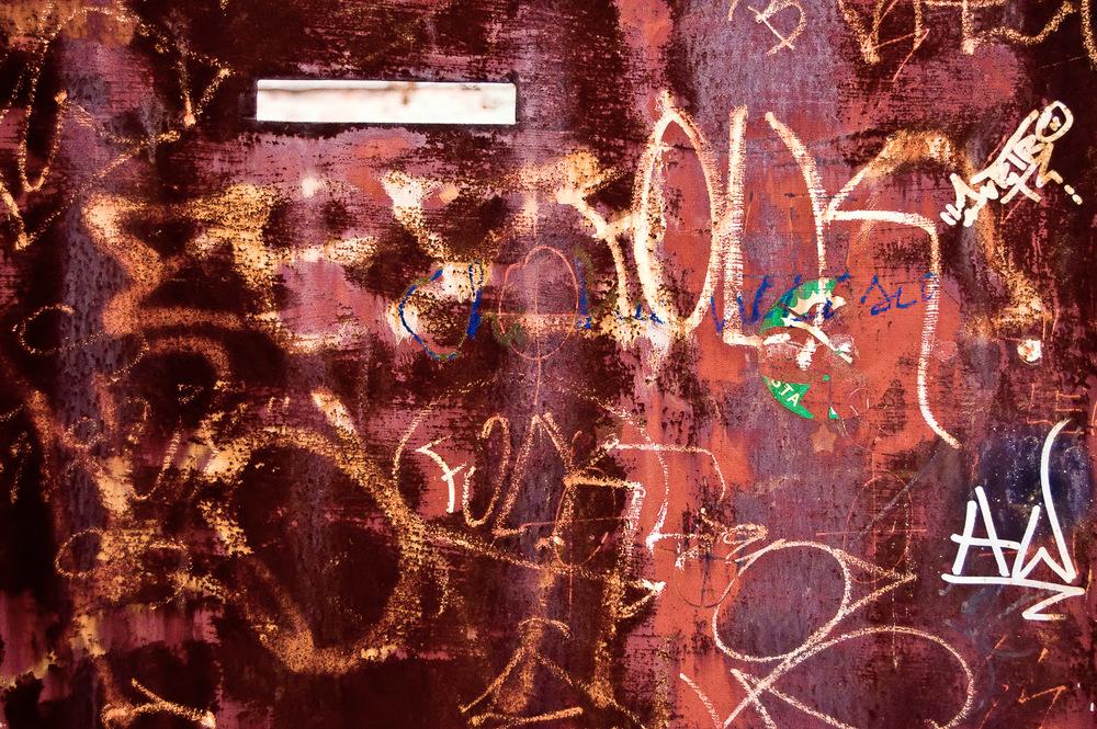 Graffiti Door, Venice | Mark Lindsay