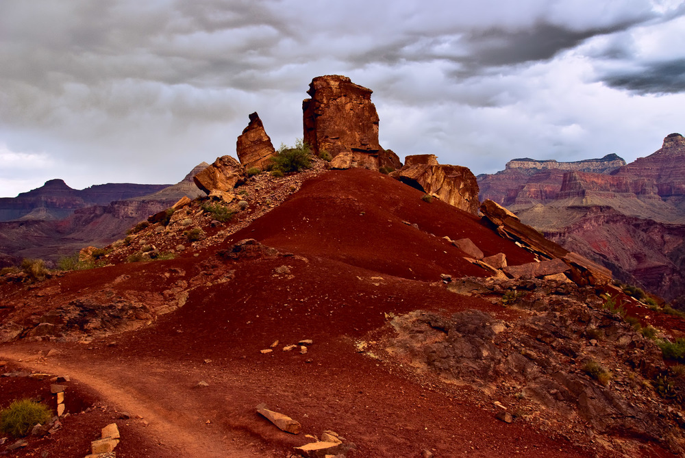 Pinnacle before Storm, Grand Canyon | Mark Lindsay