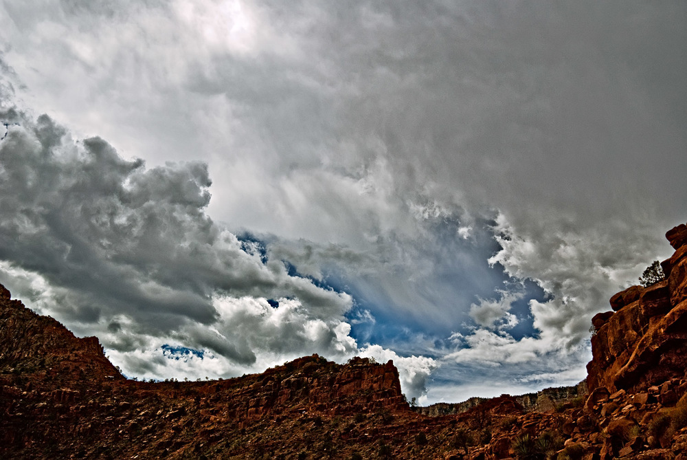 Brooding Storm, Kaibab Trail | Mark Lindsay