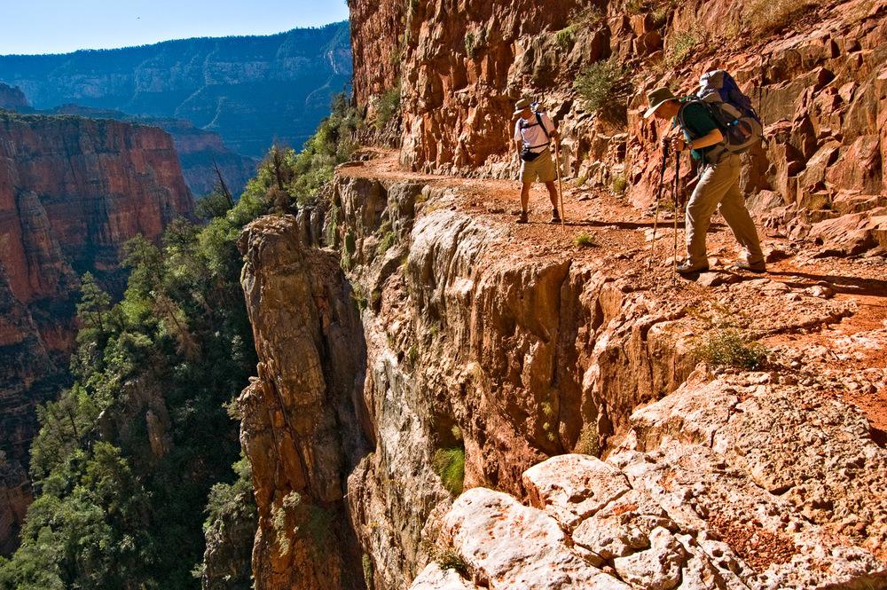 Over the Edge, North Kaibab Trail | Mark Lindsay