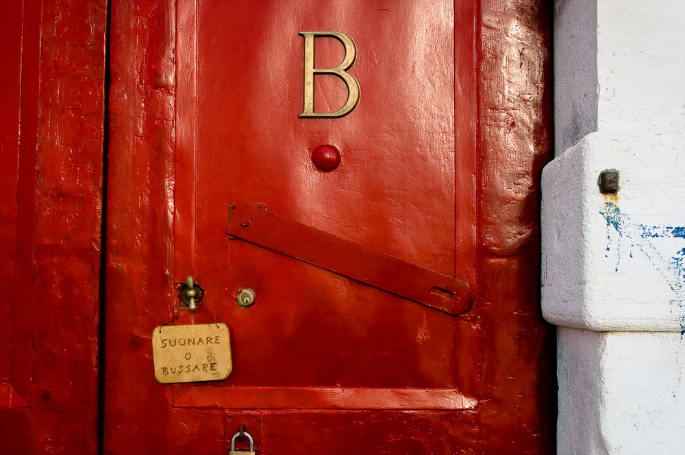 Red Door, Venice | Mark Lindsay