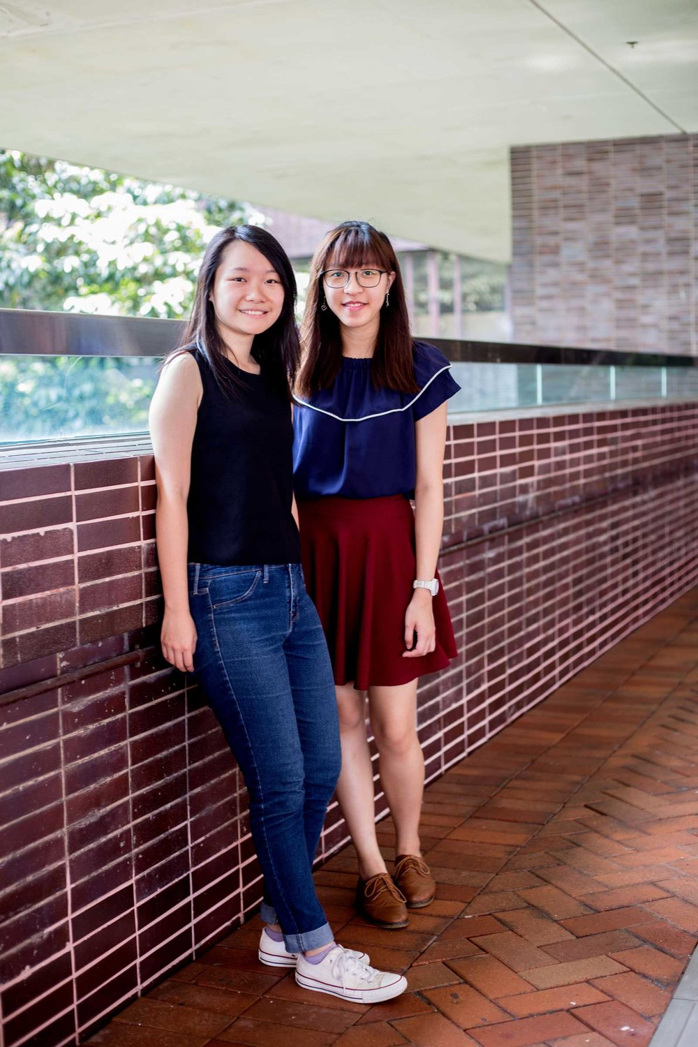 Client  The Guardian   Project   Period of change: the women fighting to break Hong Kong's menstruation taboo    Caption  Joyce Fung and Jessie Leung are trying to break the taboo surrounding menstruation in Hong Kong.