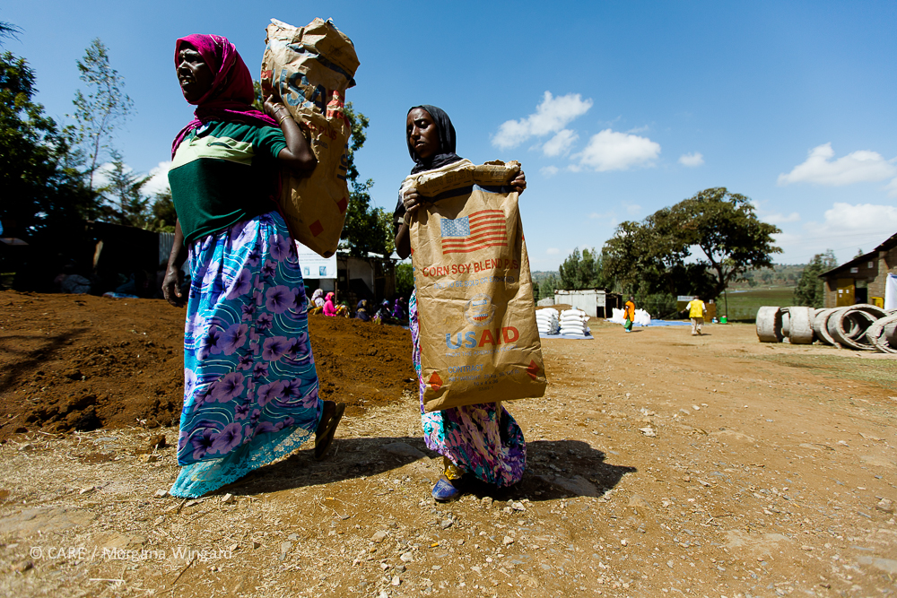 The U.S. is the largest supplier of humanitarian aid to the Horn of Africa