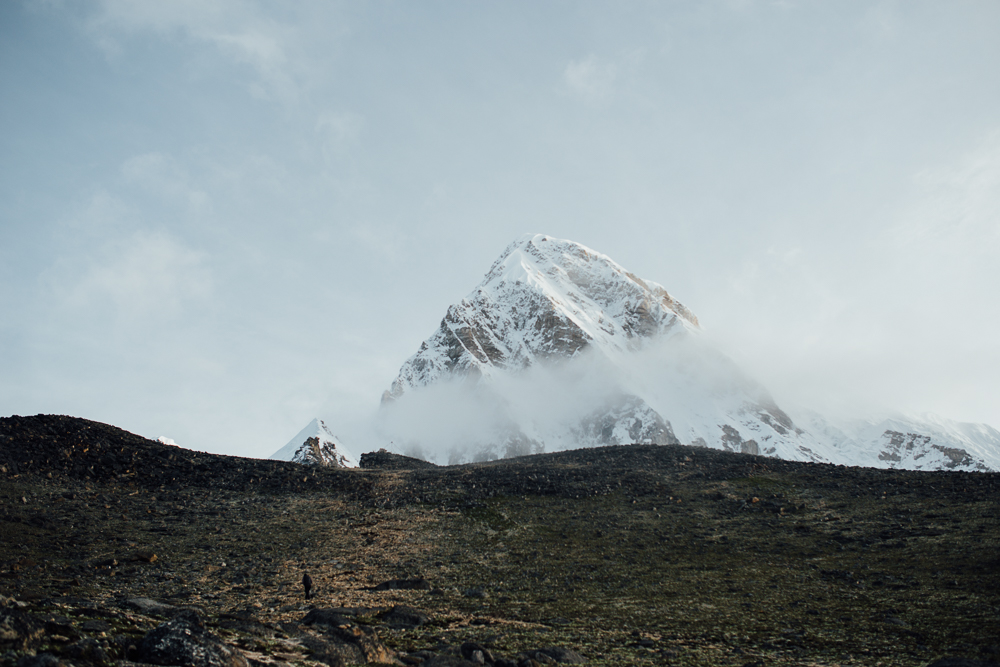 On our way to Kala Pattar view point. This is Mt. Pumori, another beautiful mountain.