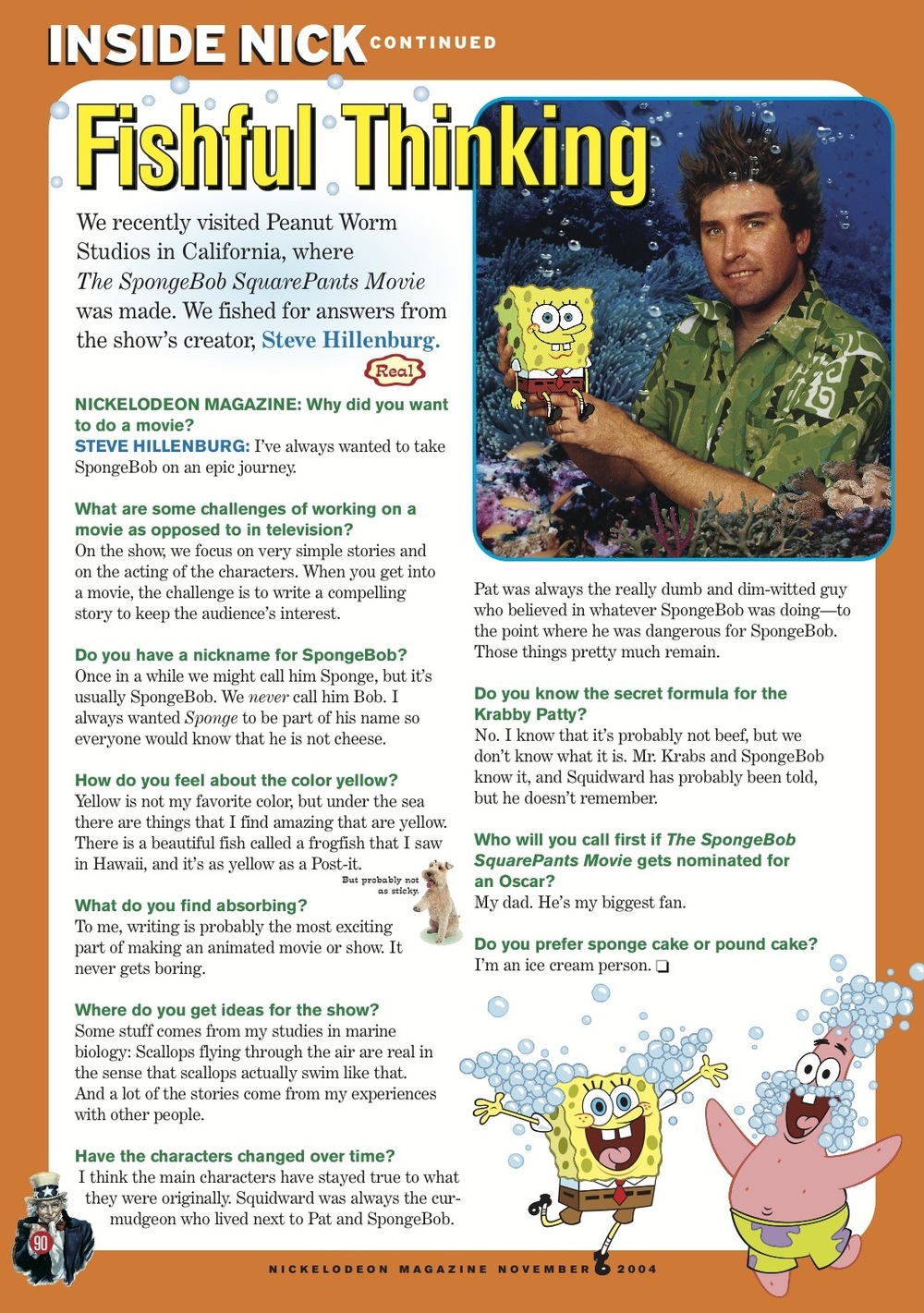 NickelodeonMagazine_Steve Hillenburg interview.jpg