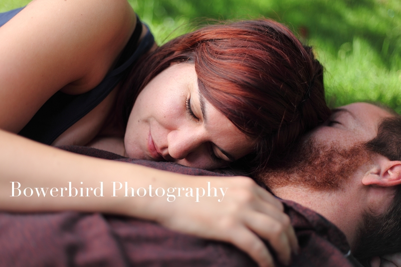 So romantic!    © Bowerbird Photography 2012; Engagement Photography at the Panhandle, San Francisco.