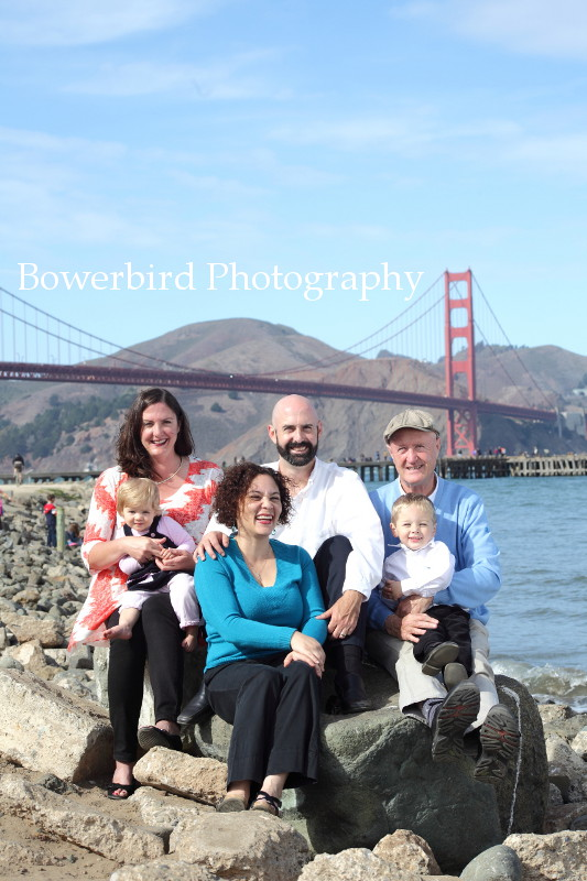 What a gorgeous family! © Bowerbird Photography 2012; Family Photography at Crissy Field, San Francisco.