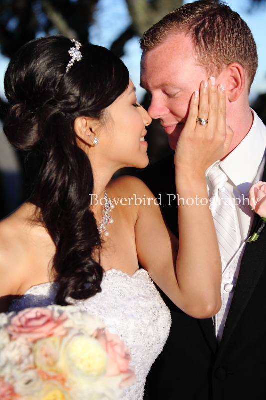 And they are married :) © Bowerbird Photography 2012; Wedding Photography at Fogarty Vineyards, Woodside.