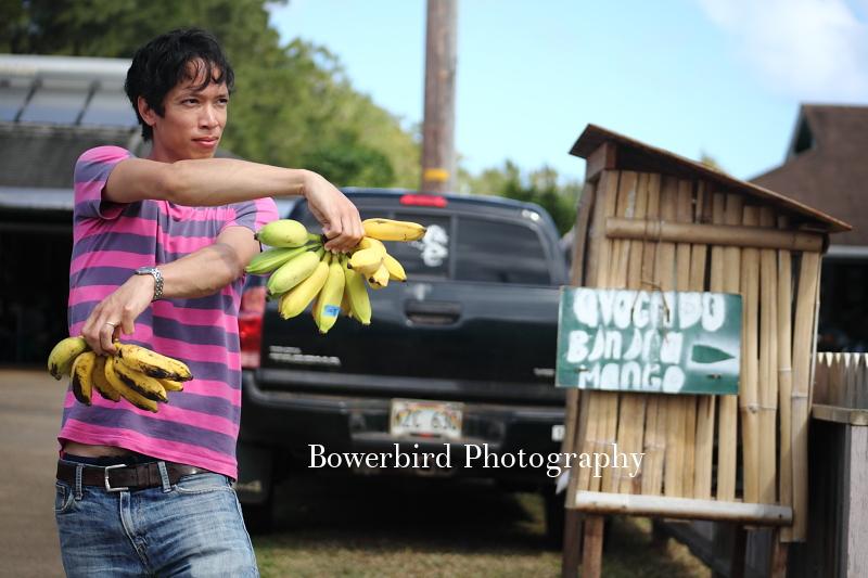 Sam going bananas!