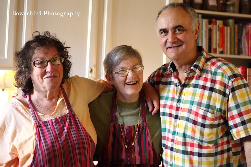 Mom, Auntie Yam and Dad -- aka The Yams. © Bowerbird Photography 2012; Thanksgiving in San Francisco.