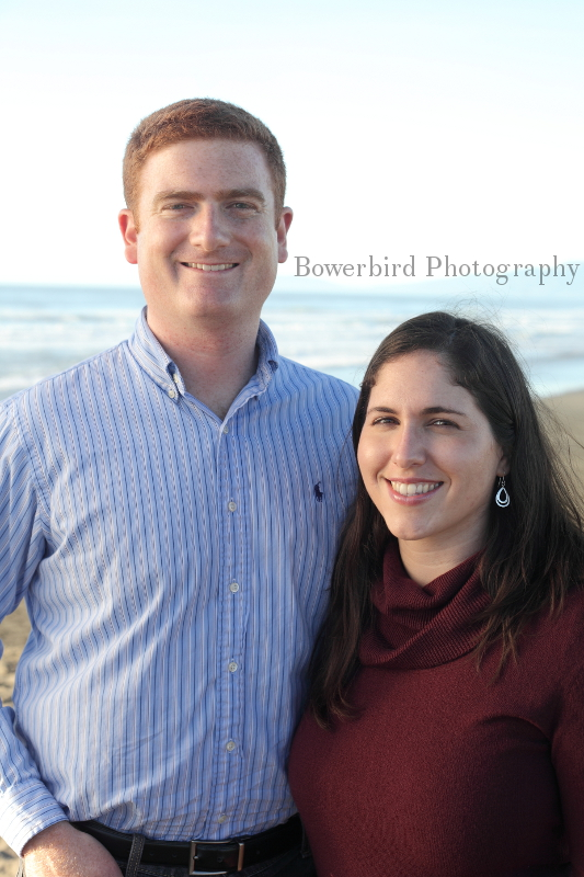 High school sweethearts. The real deal! © Bowerbird Photography 2012; Family Photography at Ocean Beach, San Francisco.