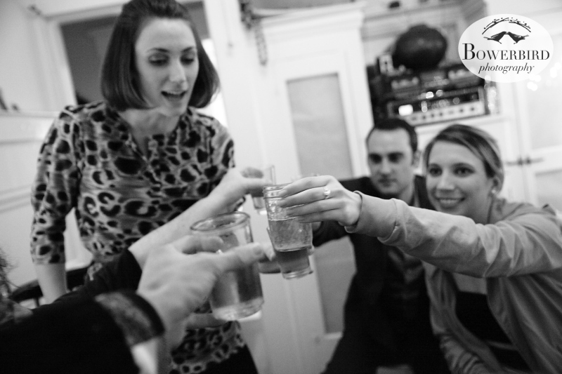 Cheers on New Year's Eve!! © Bowerbird Photography 2013; Family Photography, San Francisco.