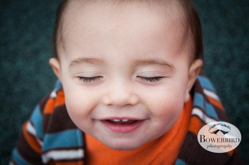 An adorable smile!   © Bowerbird Photography 2013; San Francisco Family Photography.