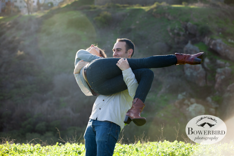© Bowerbird Photography 2013; Engagement Photography at Glen Canyon, San Francisco.
