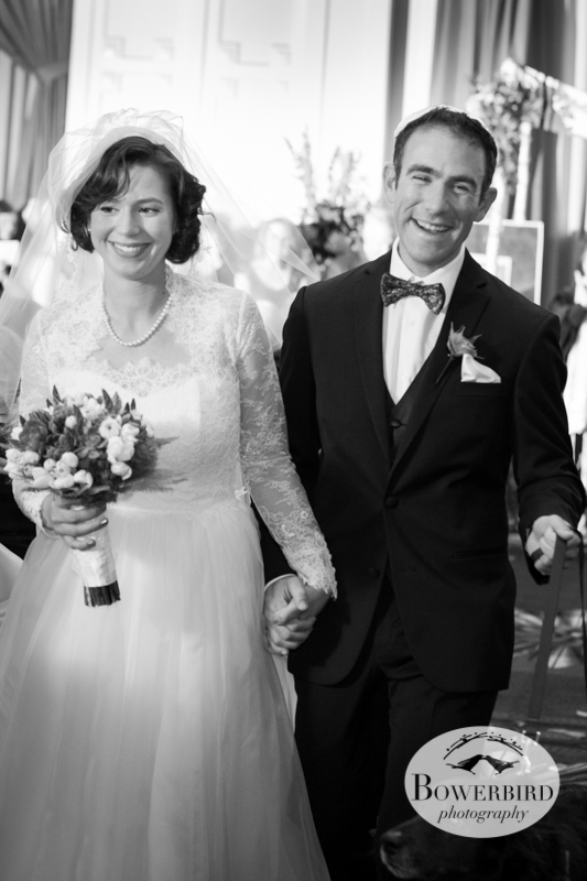 They are married :) © Bowerbird Photography 2013; Mark Hopkins Hotel Wedding, San Francisco.