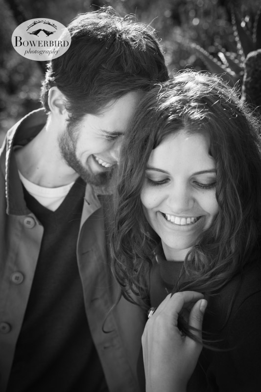 So gorgeous! © Bowerbird Photography 2013; Engagement Photography in Golden Gate Park, Botanical Gardens, San Francisco.