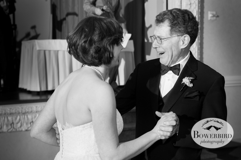 The father - daughter dance.  So happy!