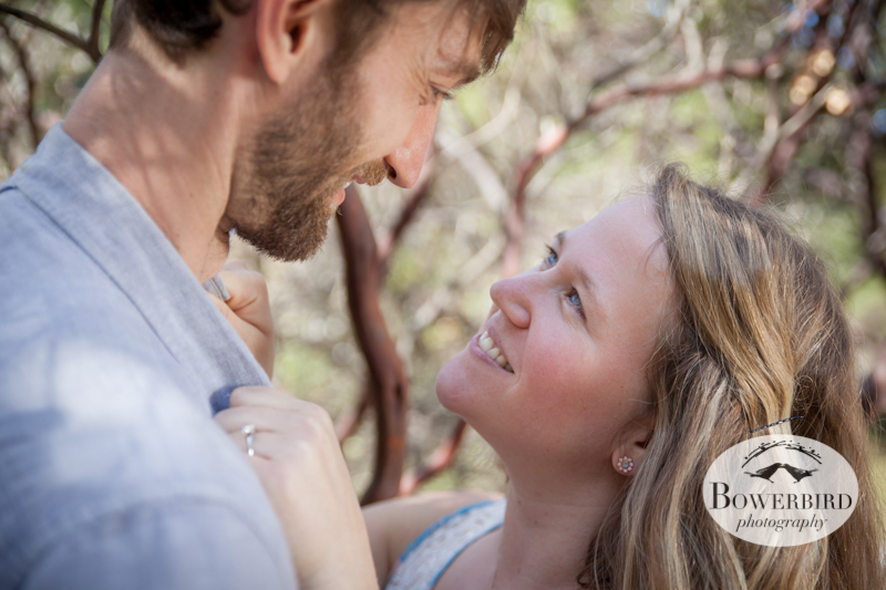 They have so much love for each other. © Bowerbird Photography 2013; Engagement Photo in Tilden Park, Berkeley.